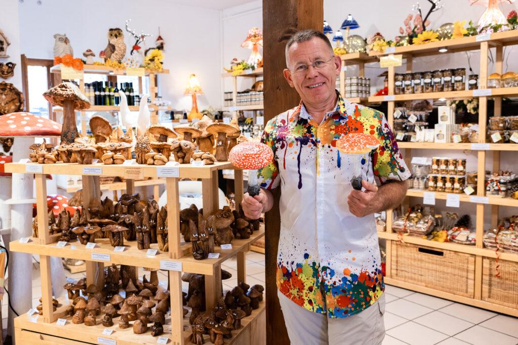 Photo La Boutique du Champignon Eguisheim